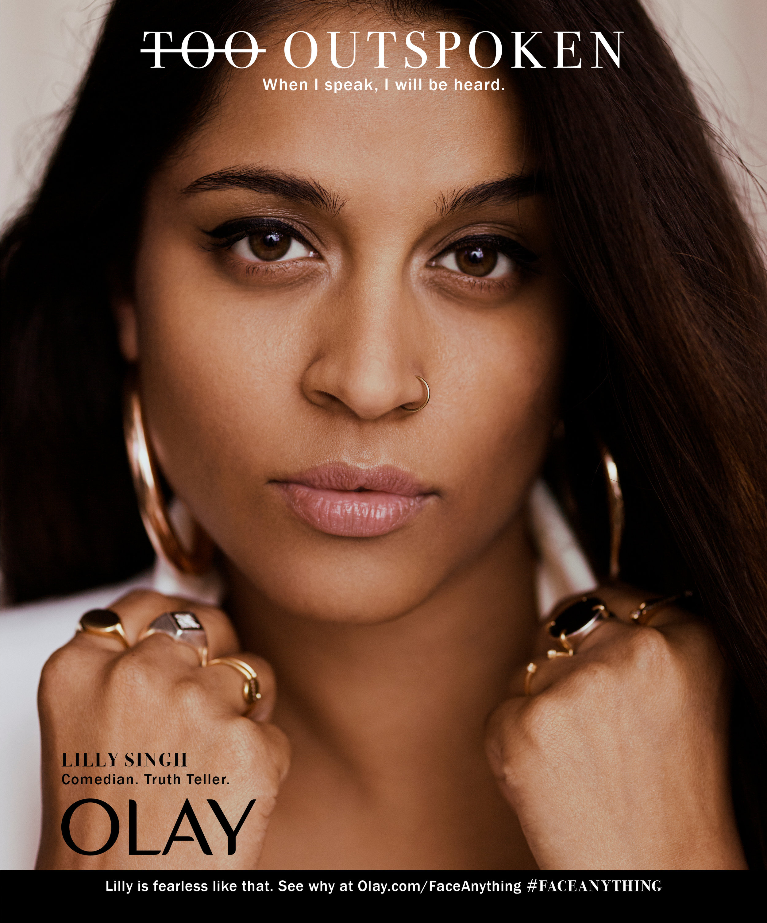 """OLay """"Face Anything"""" Campaign -"""