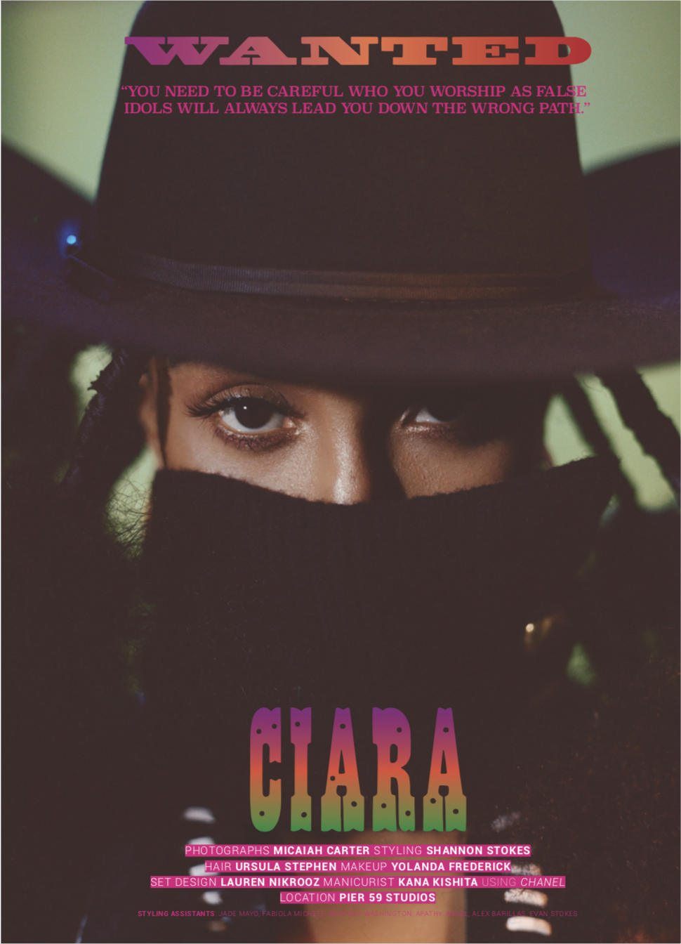 ciara for king kong magazine -
