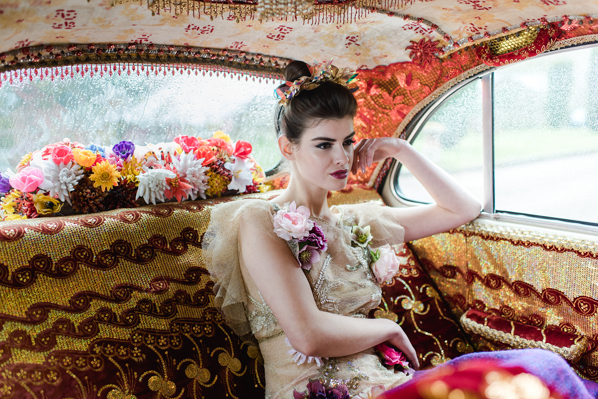Car from  Kushi Cars , Model -Maria from  Alpha Agency ,Photography by Alexa Loy Photography