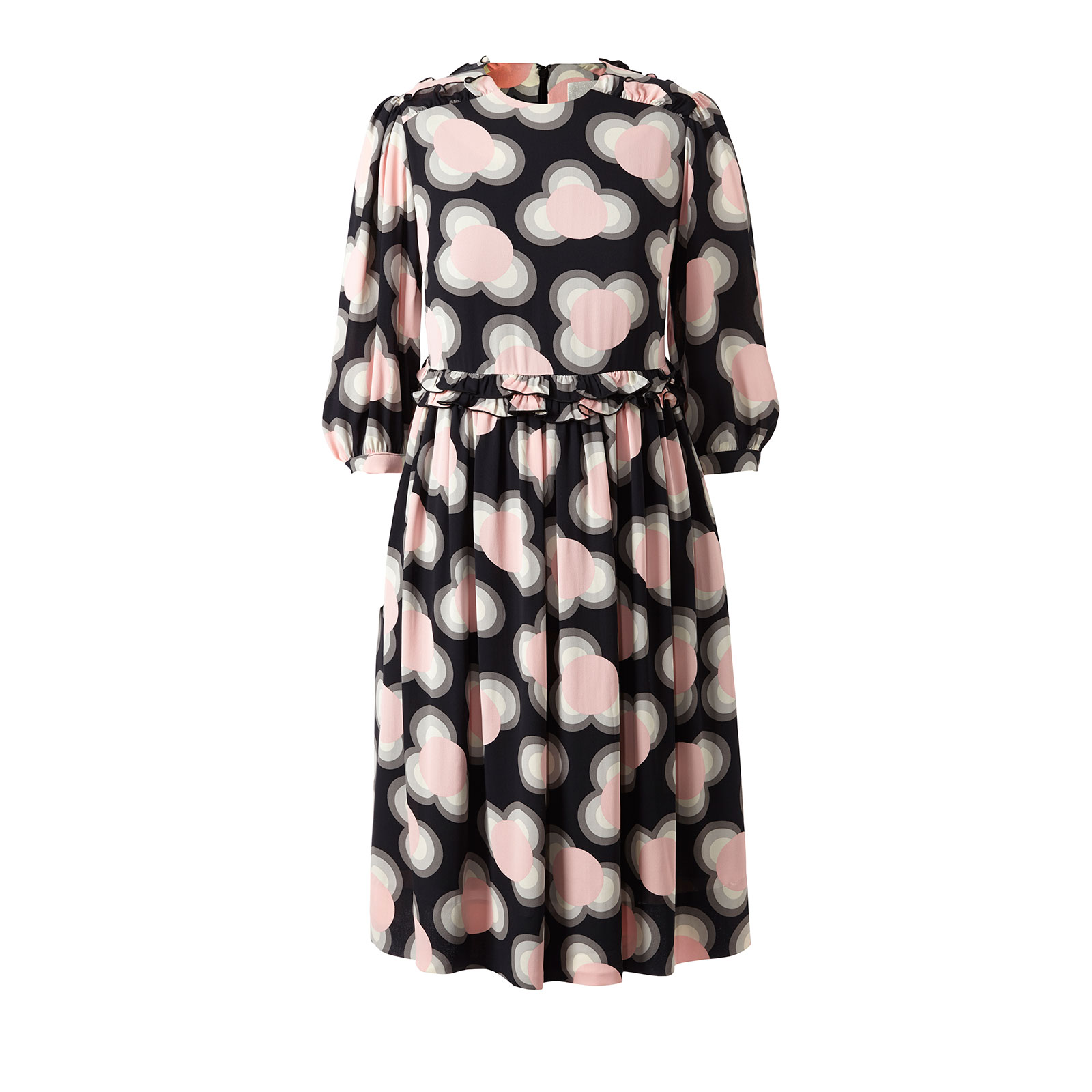 Cou Cou Gathered Day Dress   The Spring Summer 2016 Collection by Orla Kiely is a pattern lovers dream, feminine but not too sickly sweet