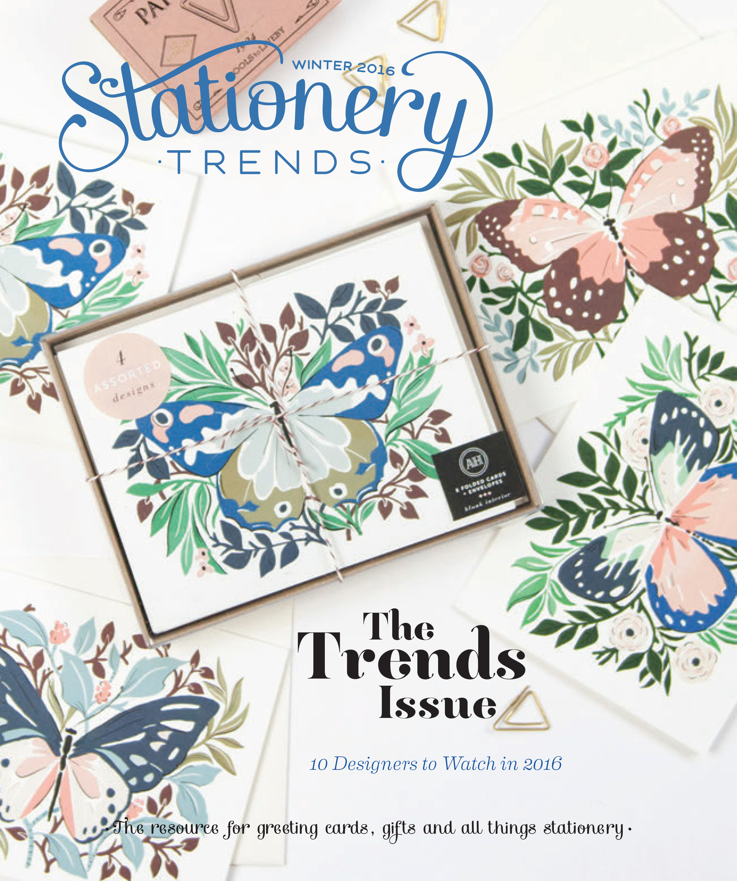 Stationery Trends Winter Cover 2016
