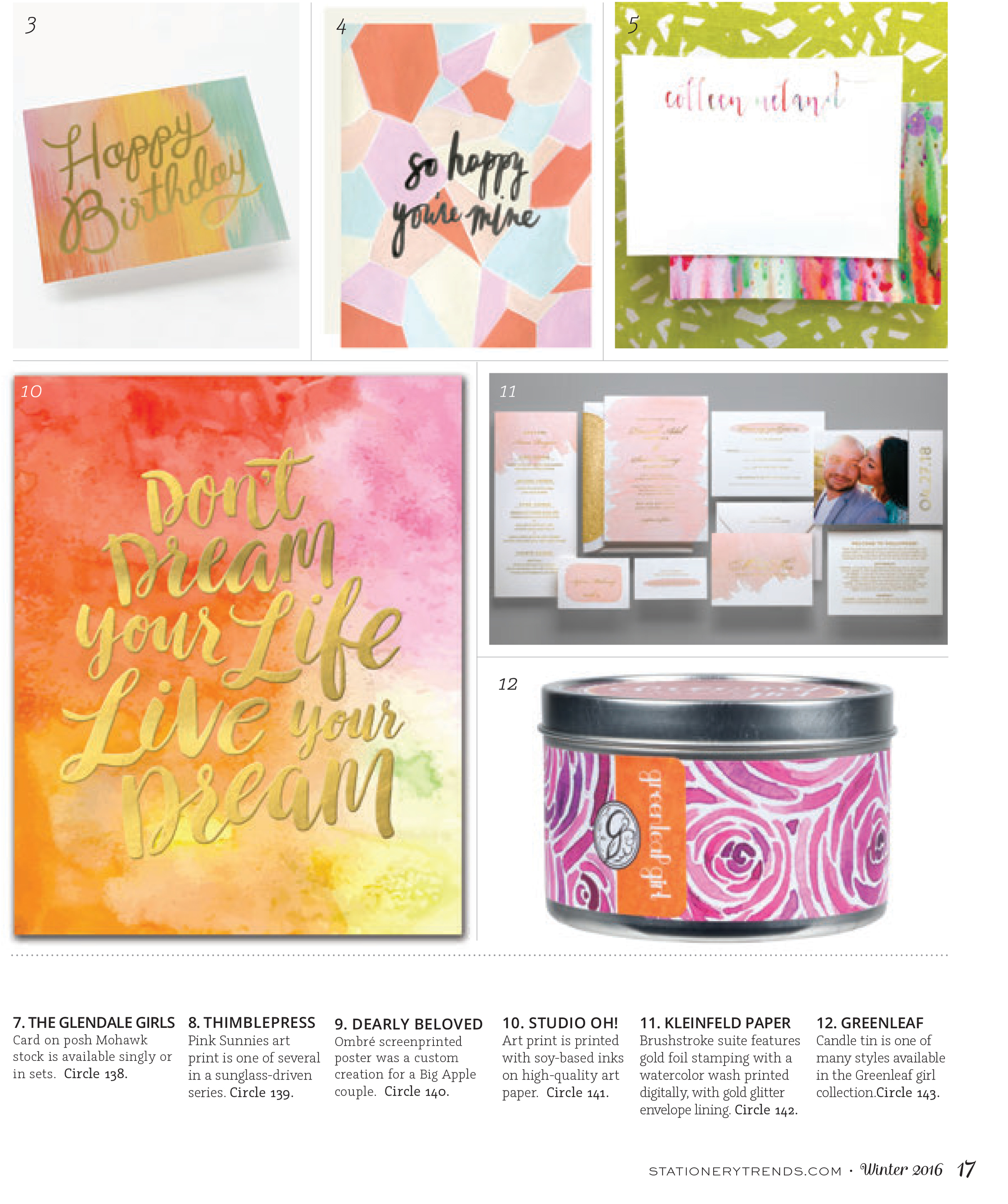 Dearly Beloved in Stationery Trends P2