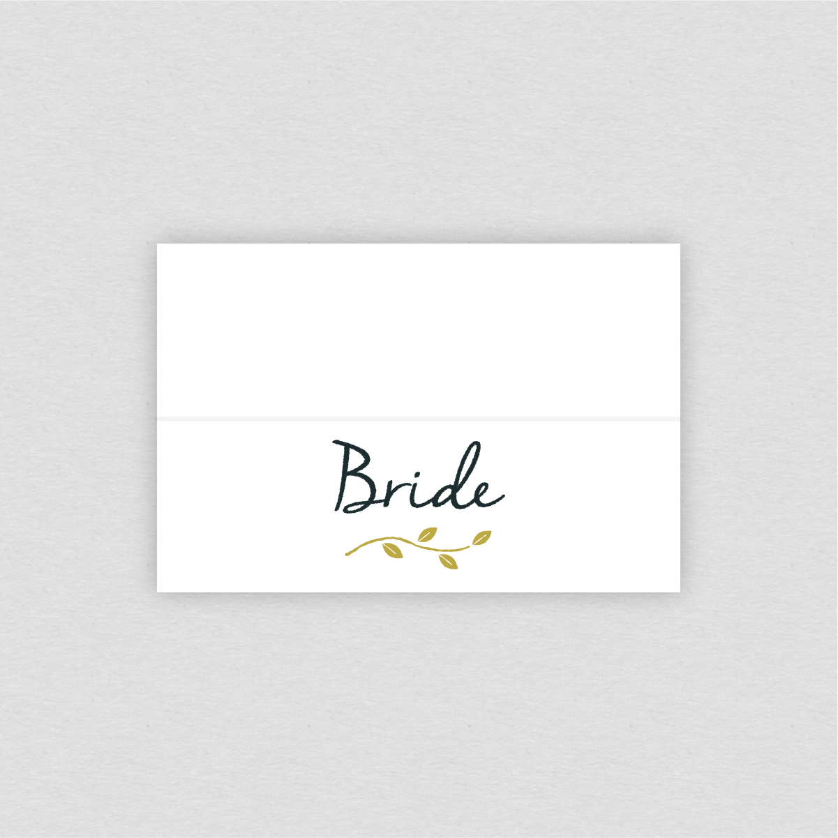 Dearly Beloved Birds Wedding Place Setting