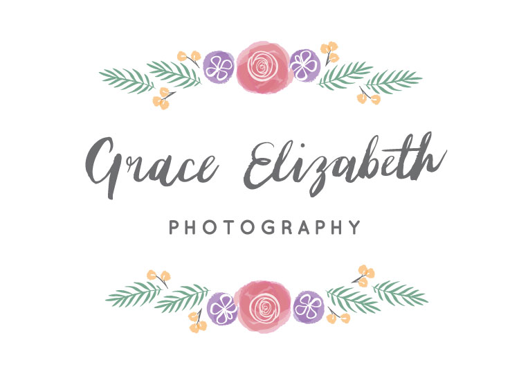 Grace's logo designed by us here at  Dearly Beloved