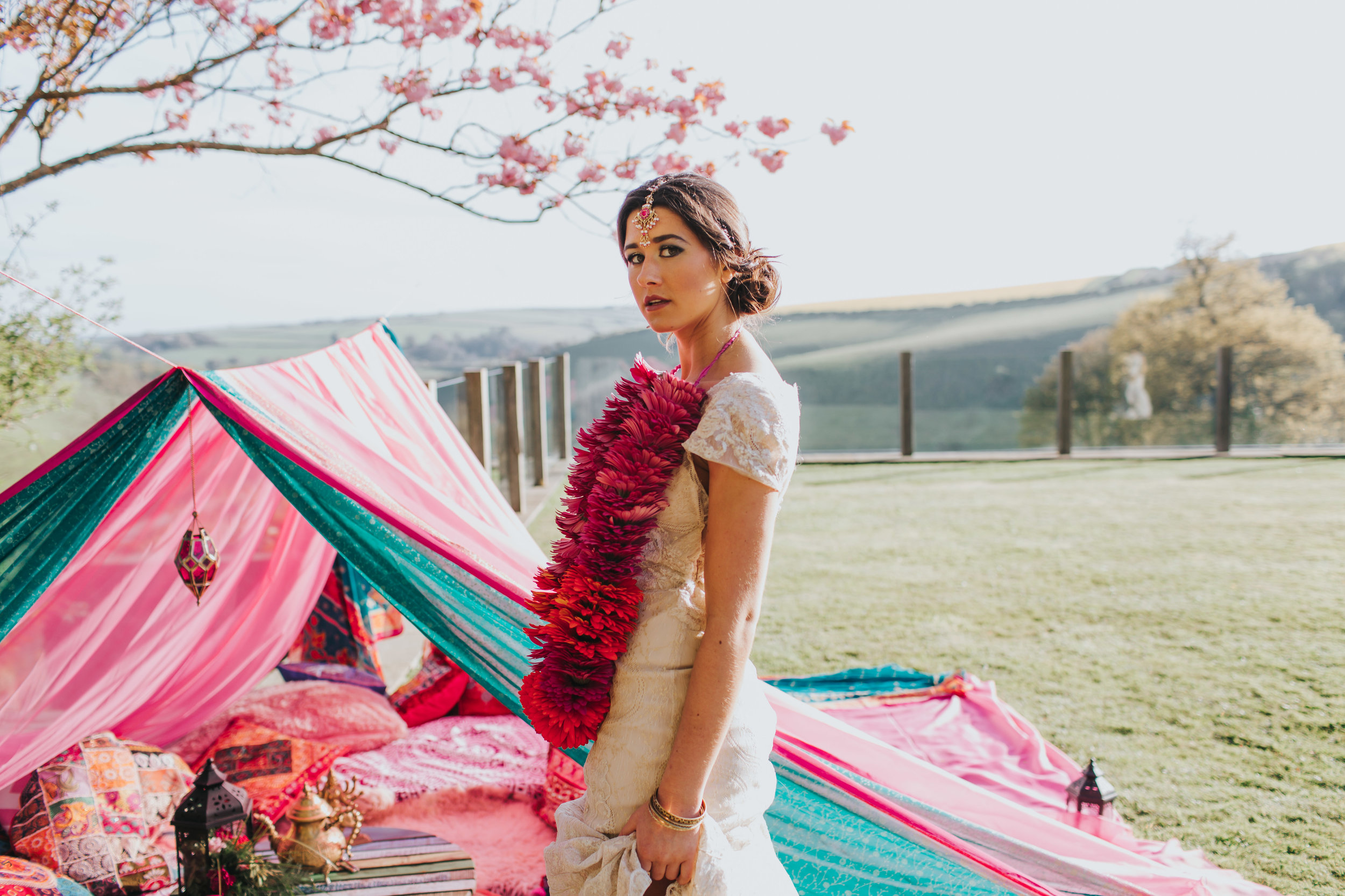 Venue -  Worden House . Styling by  Best Day Ever.  Make up by  Gemma Ryder . Photo by  Freckle Photography