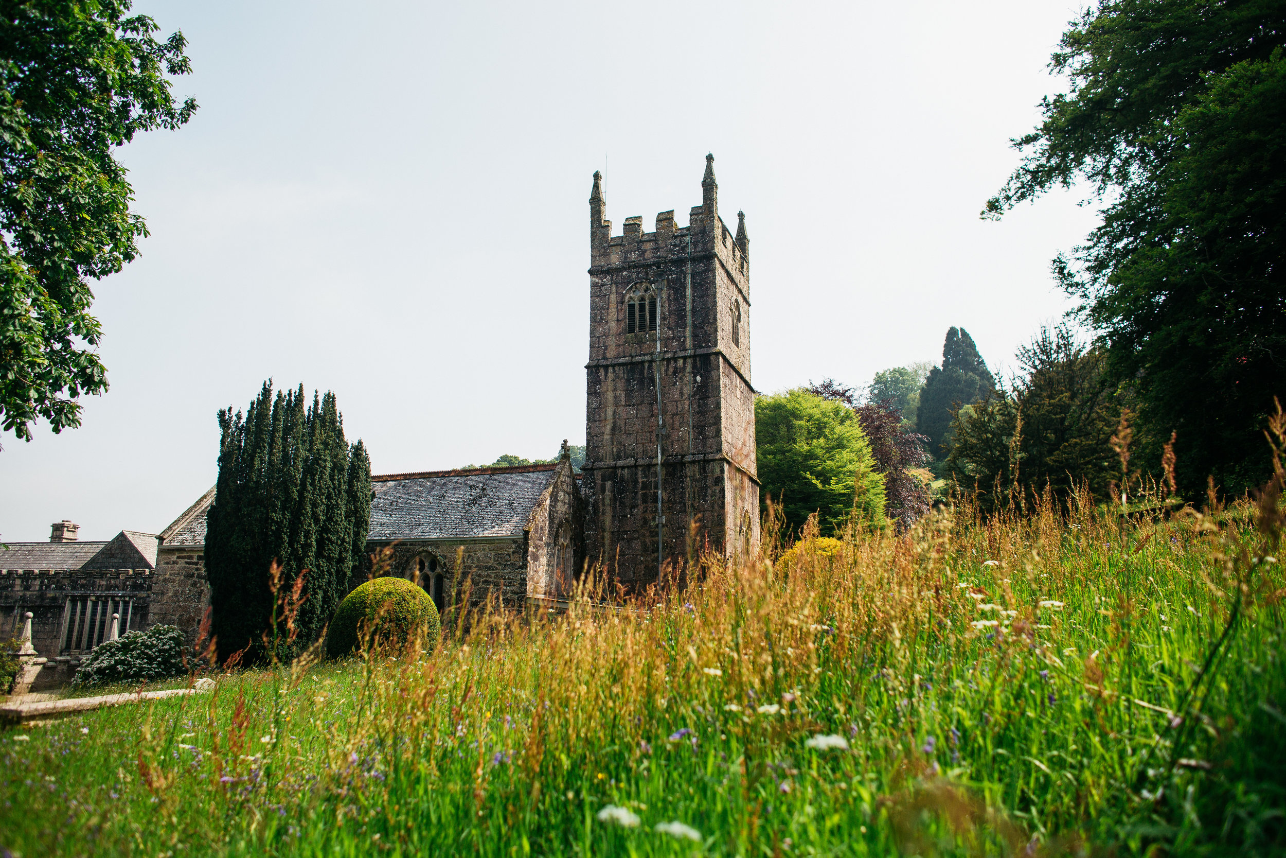 St Hydroc's Church, Landhydrock, Cornwall