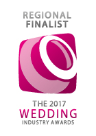 Regional Finalist 2017, The Wedding Industry Awards