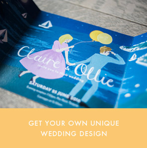 dearly beloved bespoke vintage english riviera wedding invitations