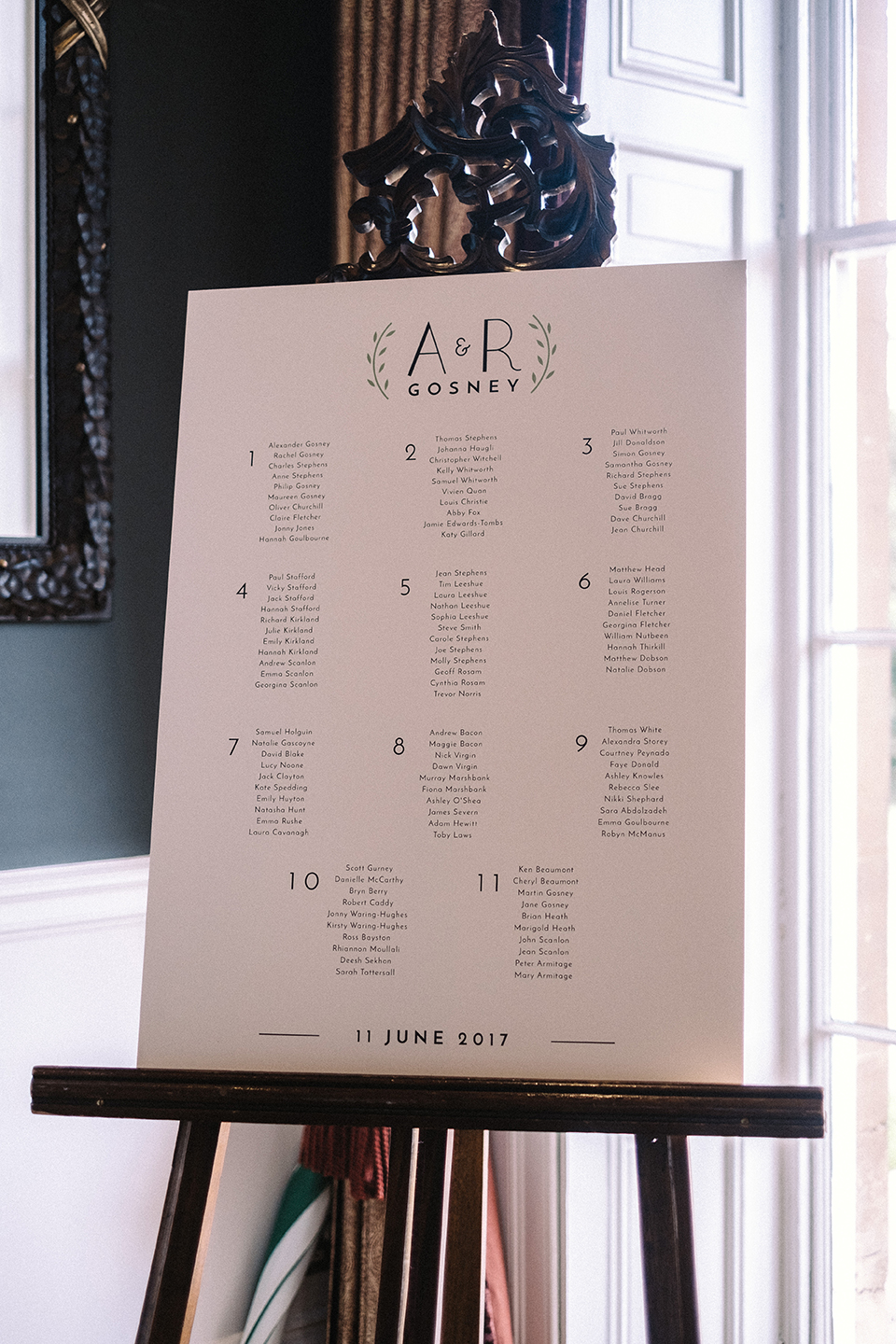 dearly beloved wedding table plan bespoke wedding monogram .jpg