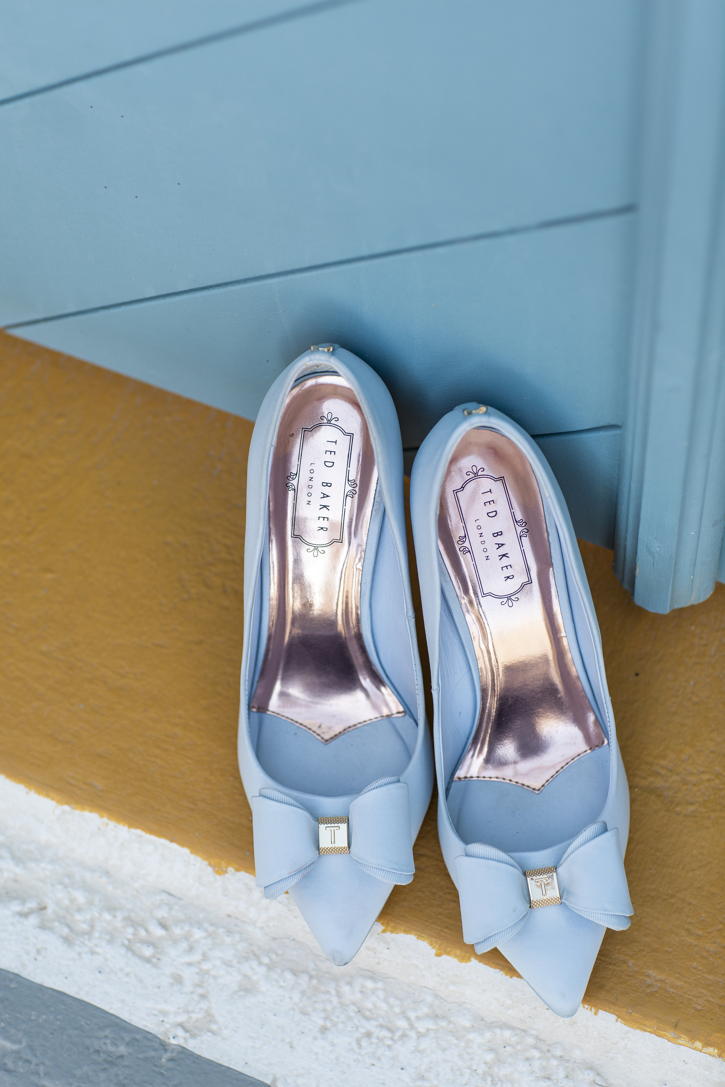 Bride's shoes -  Ted Baker