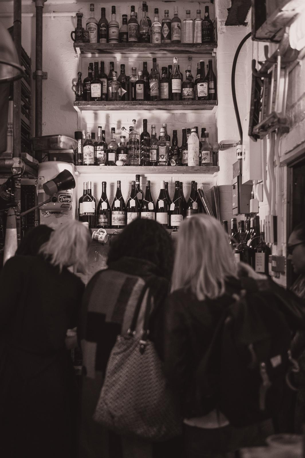 Busy bar. Fri 13 May 2016.