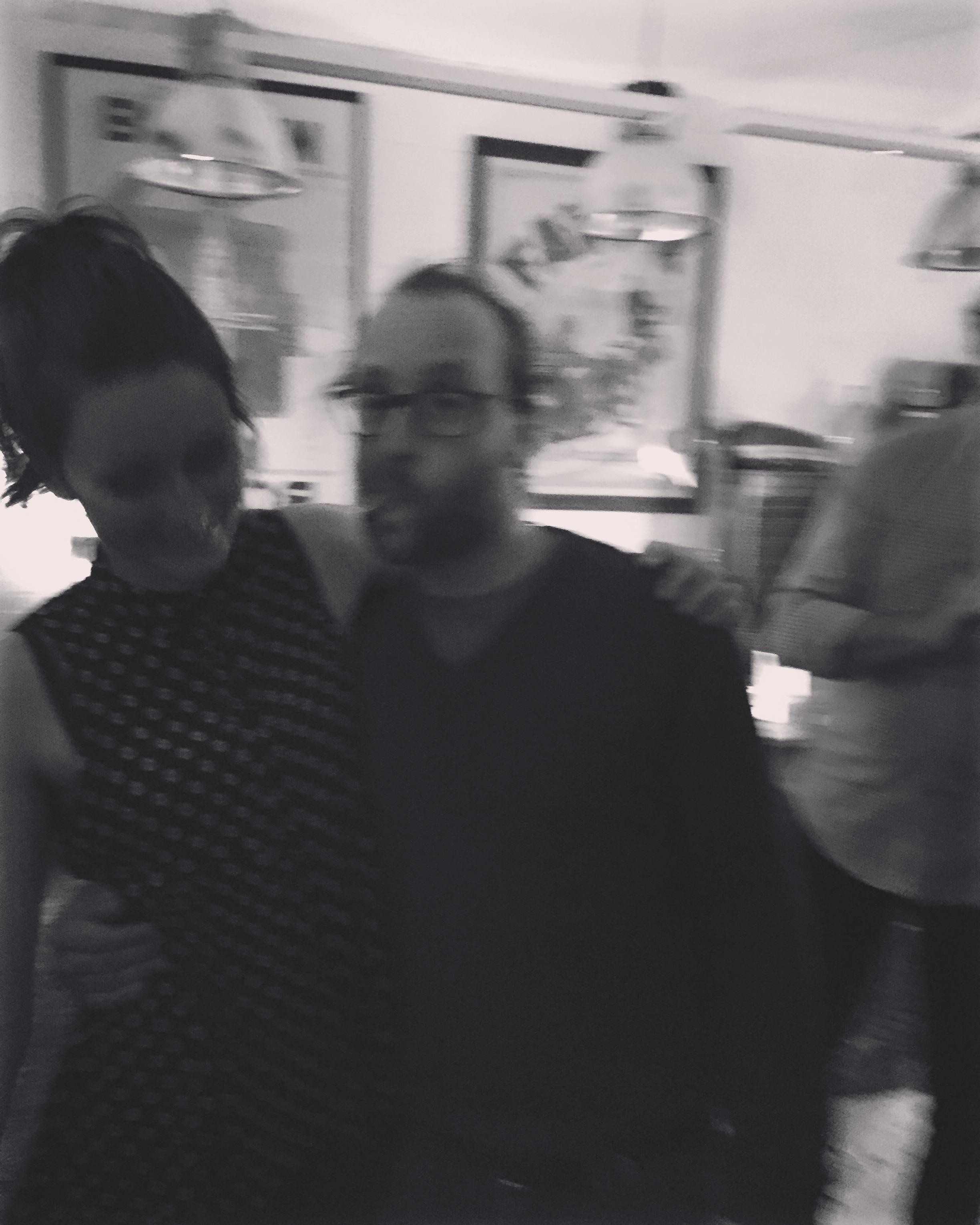 Emily Harman and winemaker Tom Shobbrook. Mon 16 May 2016.