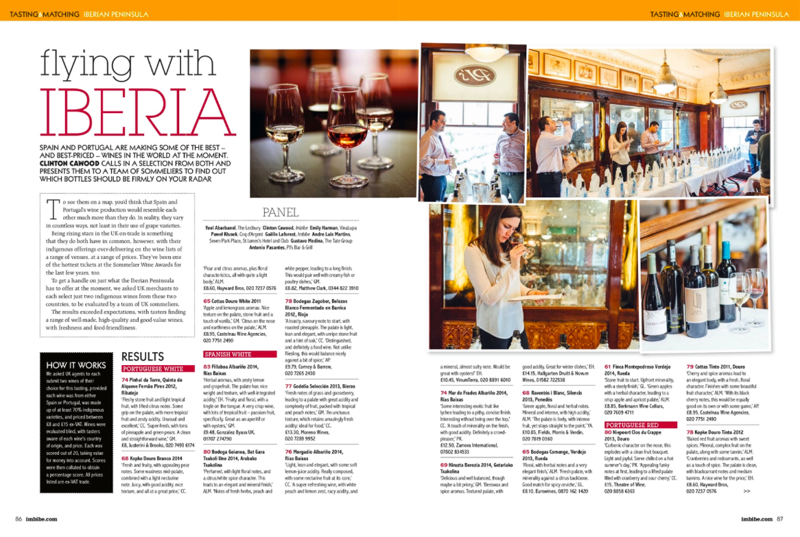 Imbibe - UK - Jan 2016
