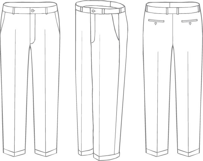 III. Wool Dress Trouser