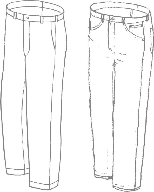 V. Casual Trouser