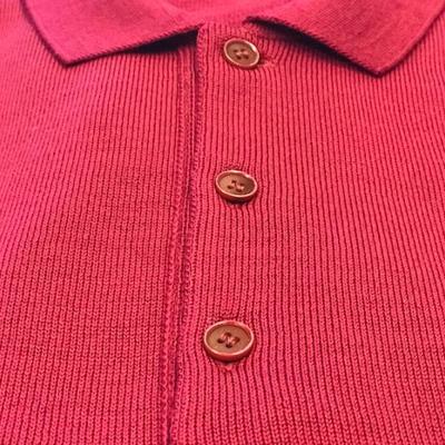 Long Sleeve Polo Merino