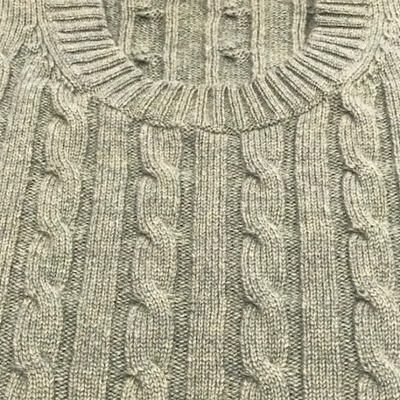 Cashmere Cable Crew