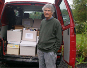 John Pearce and his donation to the Social Enterprise Collection (Scotland)