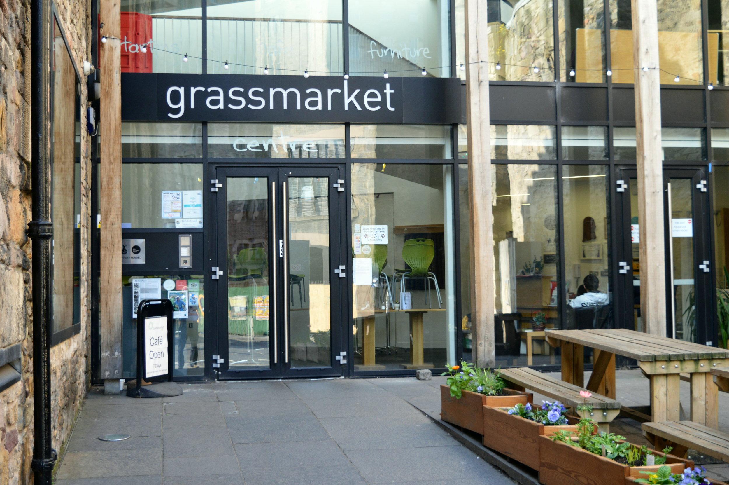 Grassmarket Project outside.jpg