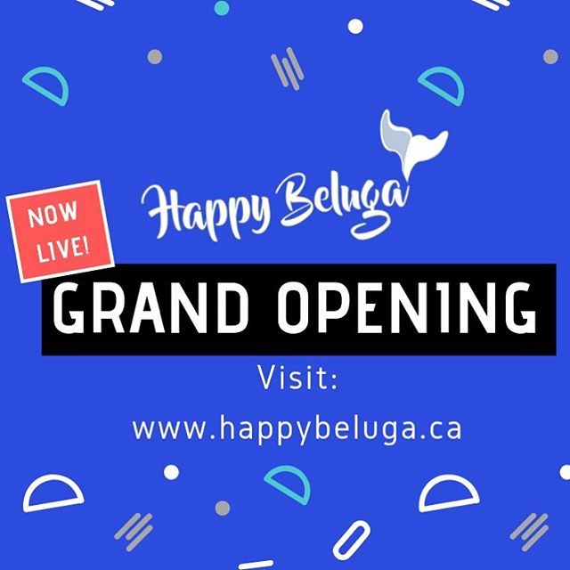And Happy Beluga is live! 🎈  Come check out the online shop at www.happybeluga.ca  Happy Beluga is a brand that focuses on educating and providing sustainable goods and merch, like reusable bamboo straws, bamboo and recycled plastic sunglasses (coming in next week) and sweet looking hats.  Thank you for your support, happy Friday!  #happybeluga #nowlive #bamboo #snapbacks #buckethats 🐳