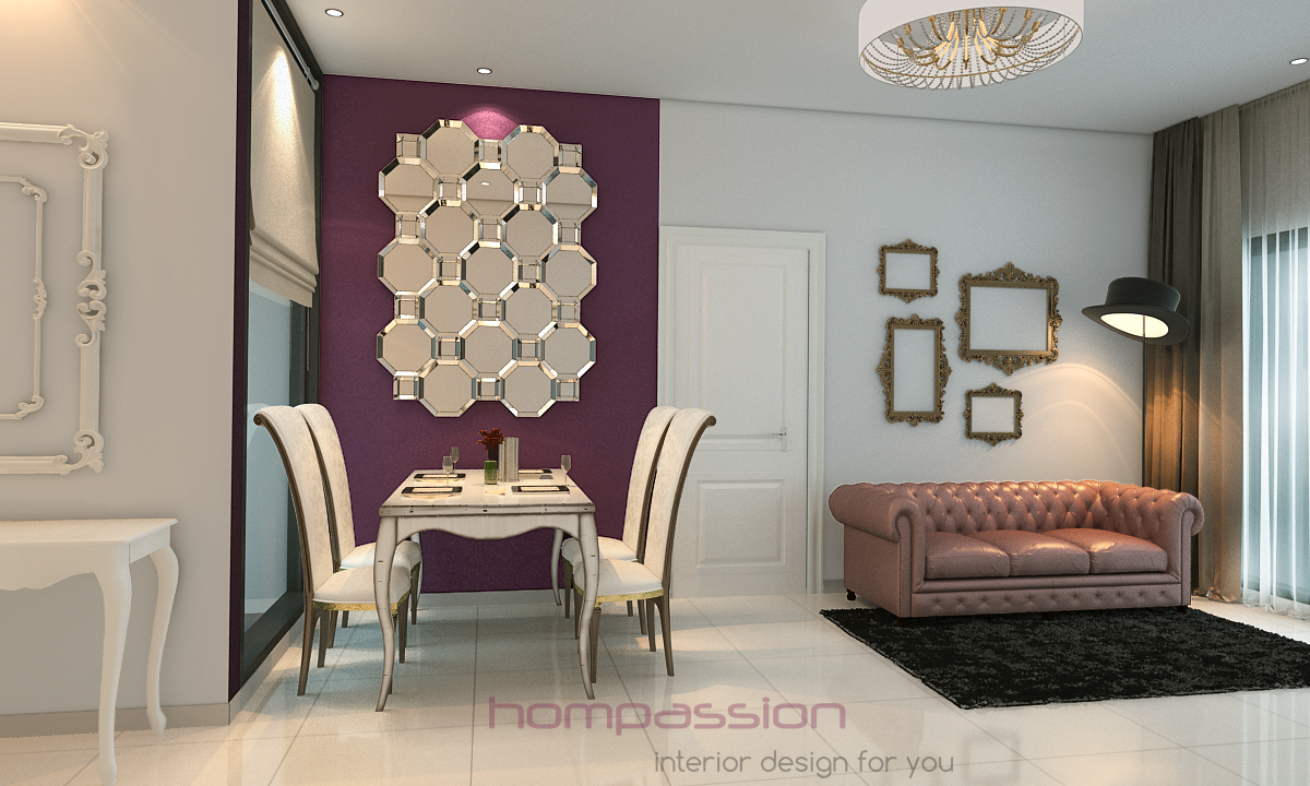 classical furniture in a modern setting witha dash of humour......... clickfor more