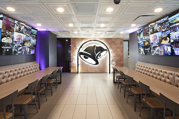 Expanded Taco Bell Las Vegas Cantina