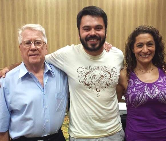 Bob Bailey, Marius Geykman & Parvene Farhoody in Orlando, Florida.