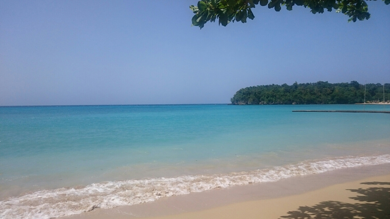 we stopped at this beach for a full Jamaican lunch