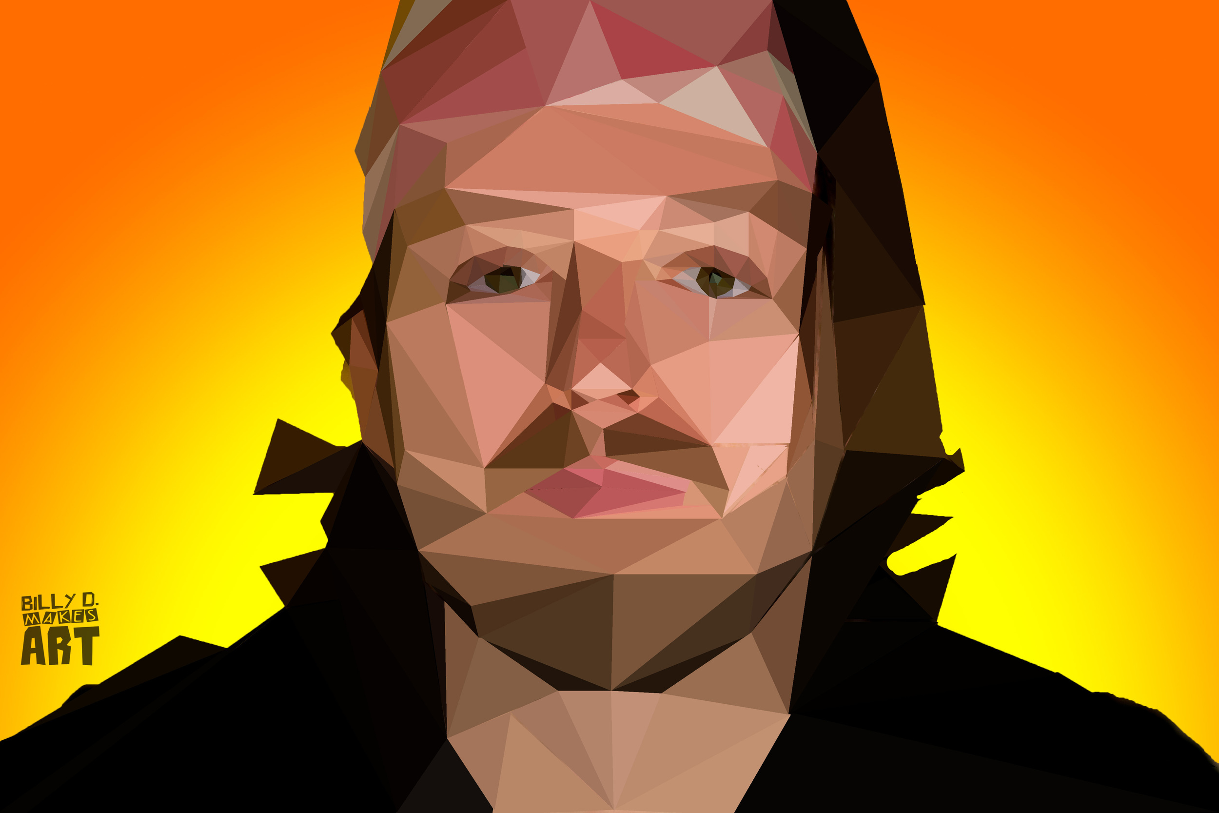 Billy D. Low Poly