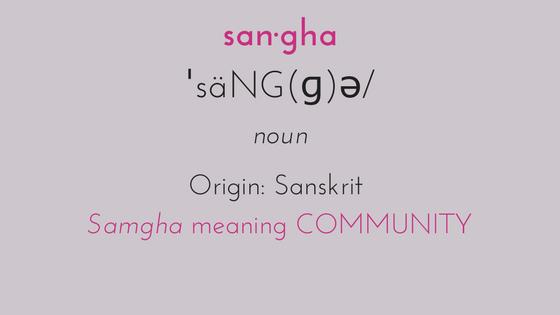 san·ghaˈsäNG(ɡ)ə_nounOriginfrom Sanskrit saṃgha 'community.'.png