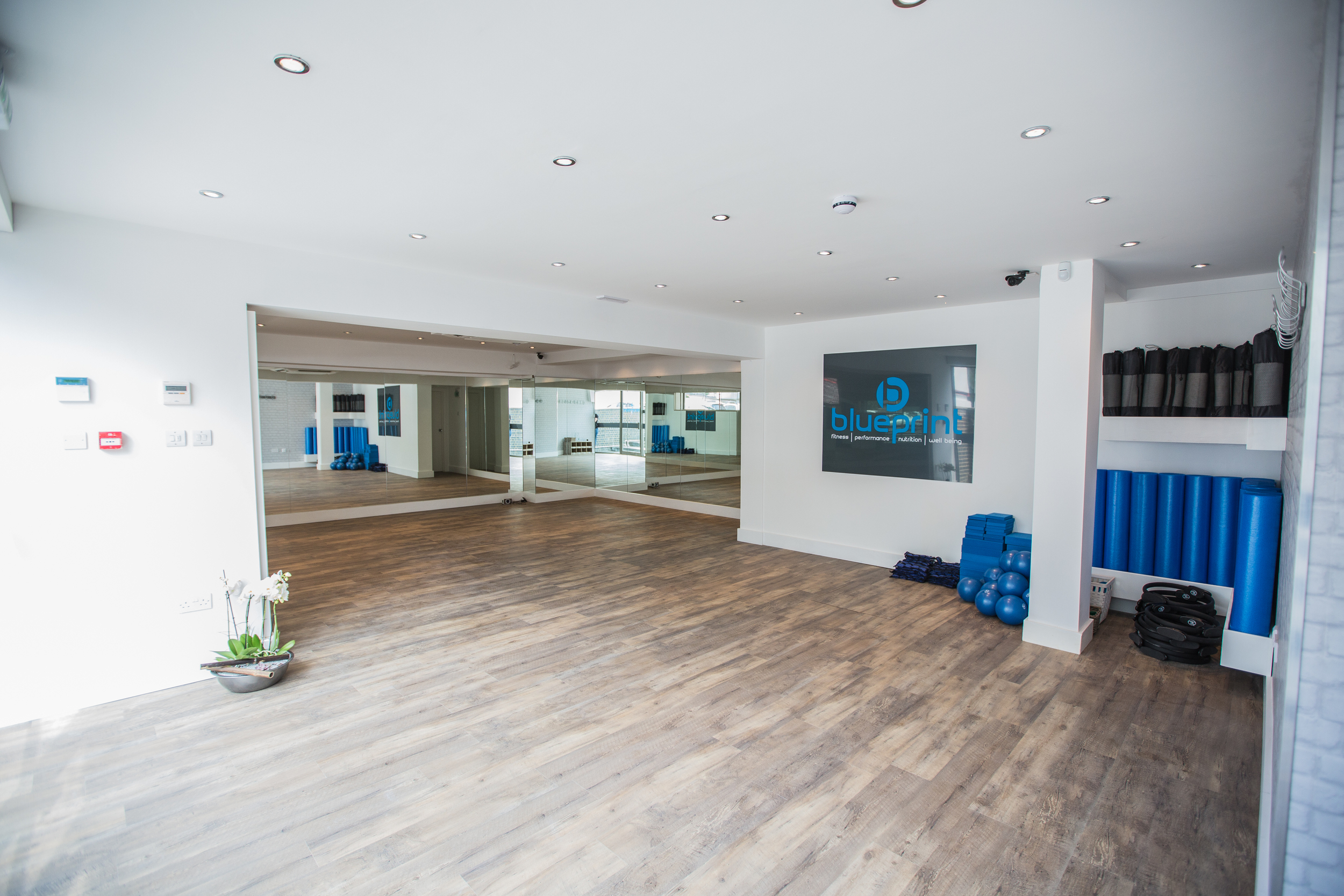We also rent our Fitness Studio by the hour -