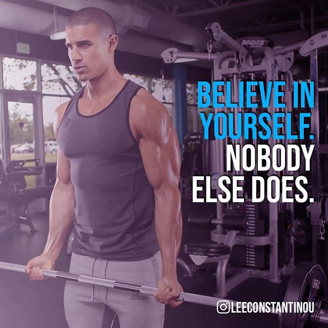 Happy birthday @leeconstantinou 💪🏽 and thanks for some motivation this morning! #believeinyourself  #transformation #physique #bodybuilding #naturalbodybuilding #gains #motivationalquotes #diet #healthylifestyle #changeyourblueprint