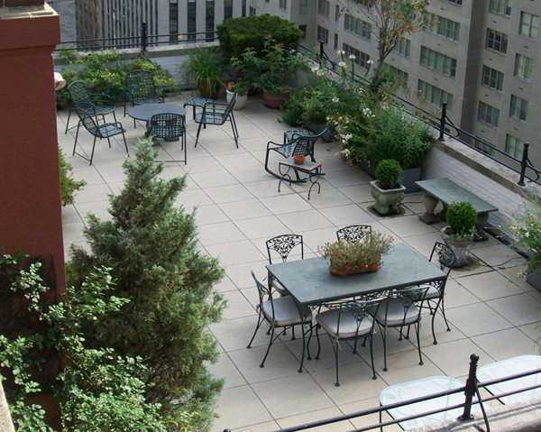 Bulado General Contractors - Roof Deck installed at 101 West 55th Street - NYC