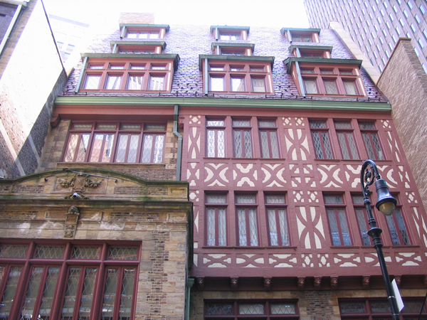 Full facade restoration completed by Bulado General Contractors at William Street, NYC