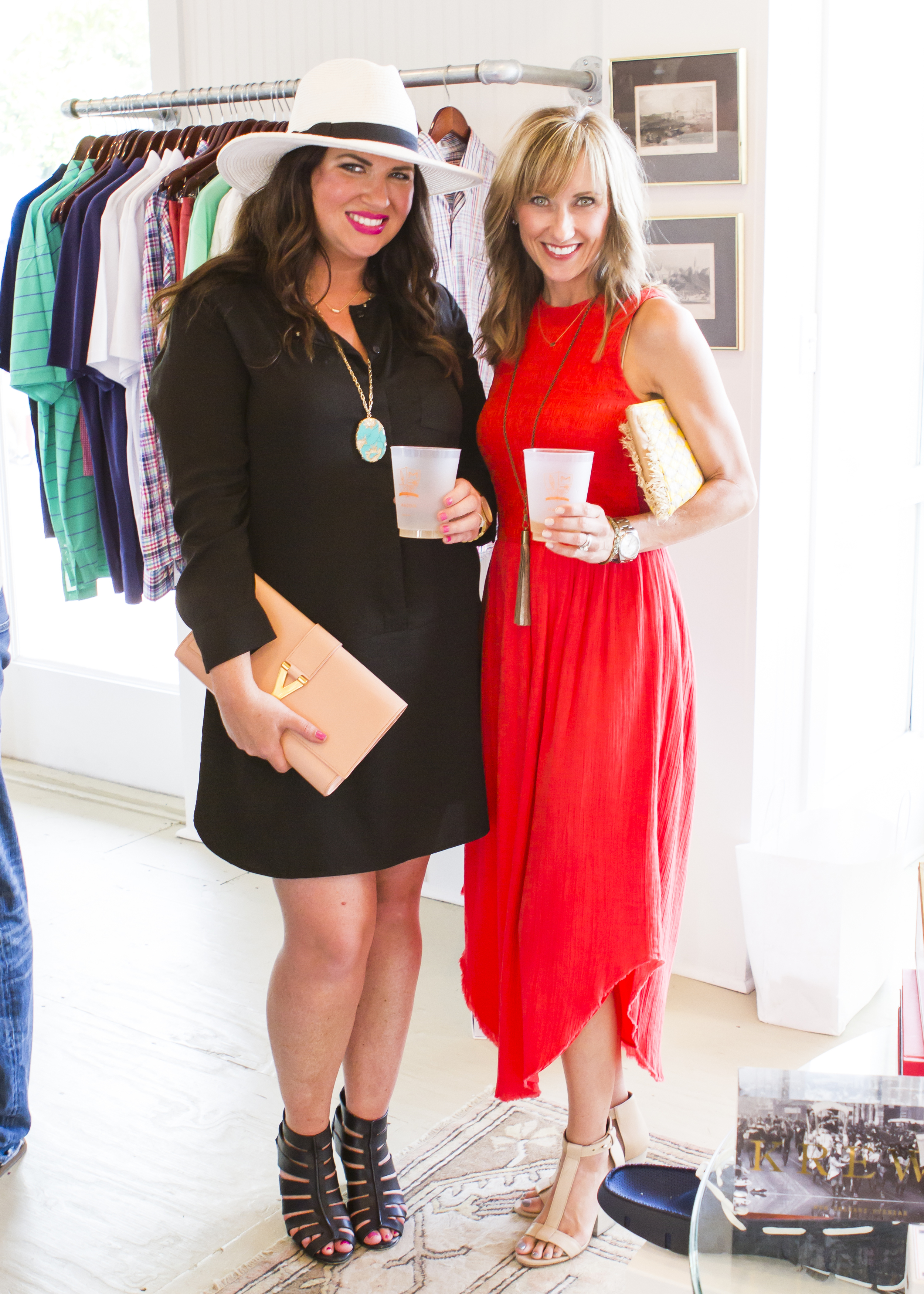 Jami Ray of 30A Street Style and me at the grand opening.