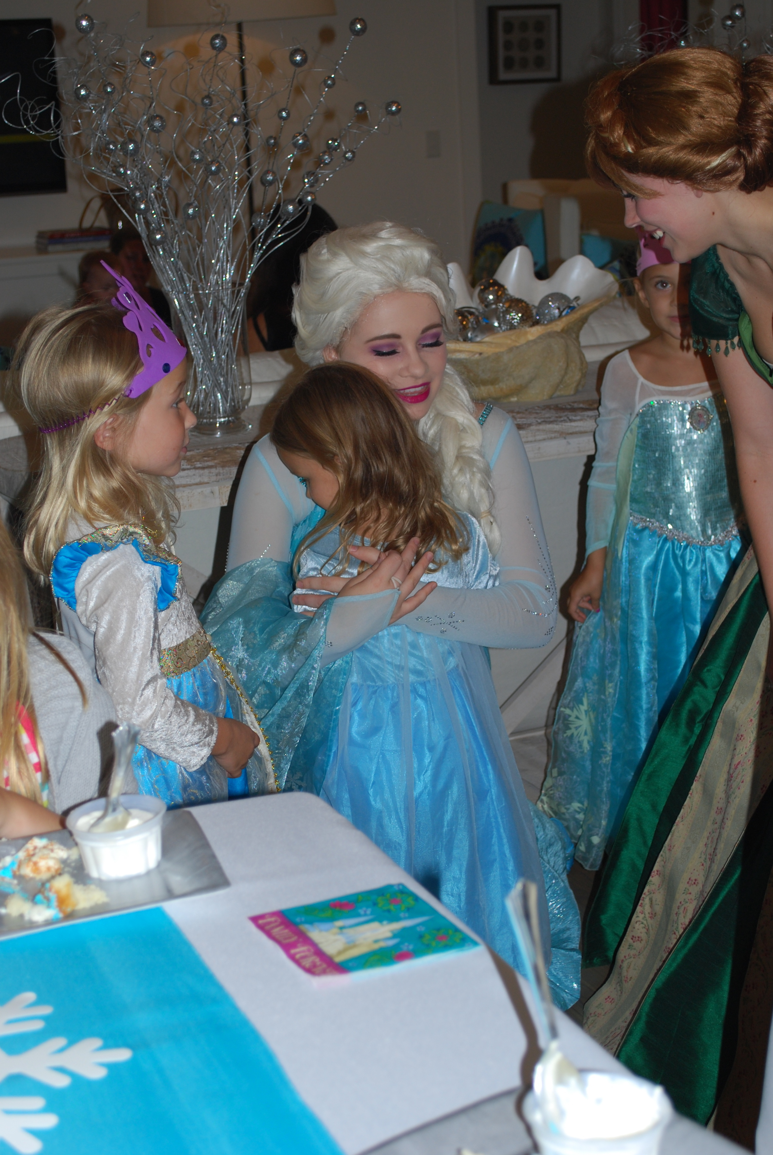 We didn't want Elsa and Anna to go
