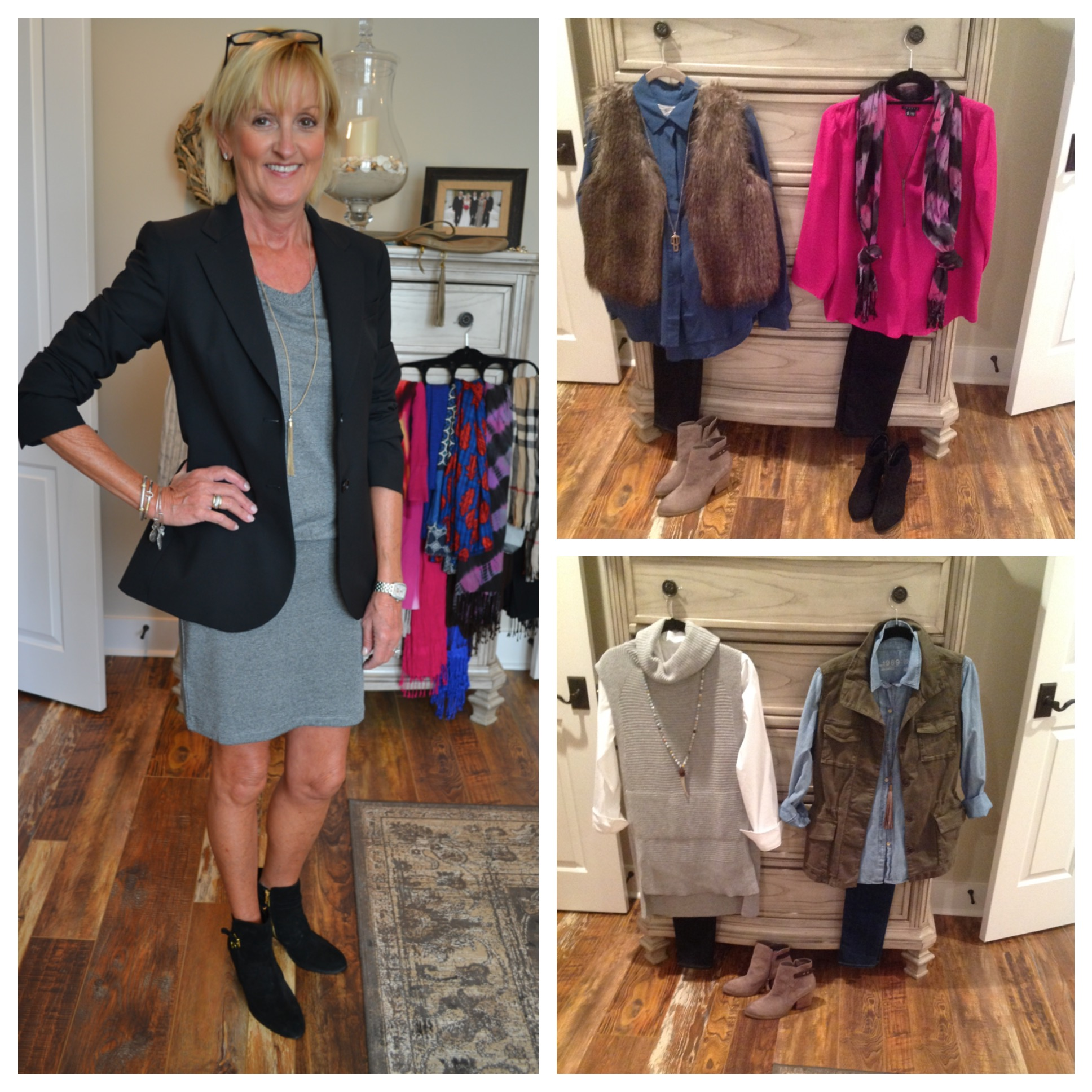 Cute Penney and outfits I styled.