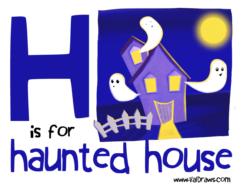 H-is-for-haunted-house