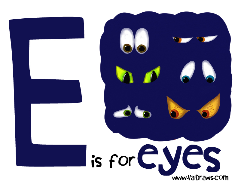 E-is-for-eyes
