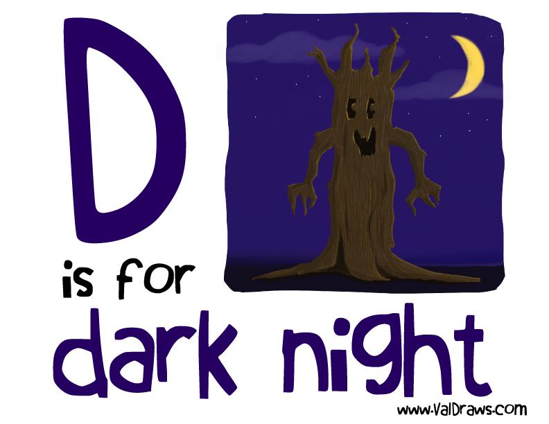 D-is-for-dark-night-valerie-bean-illustration