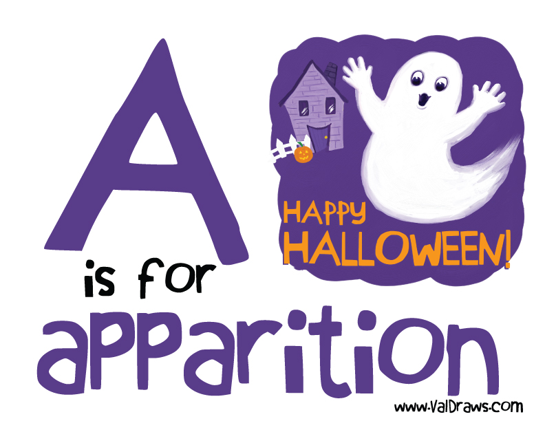 A-is-for-apparition-valerie-bean-illustration
