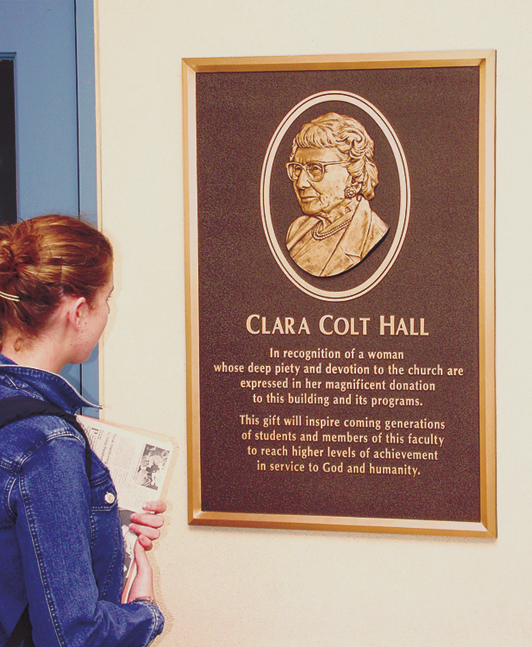 Clara Colt Hall<br>Point Loma Nazarene College