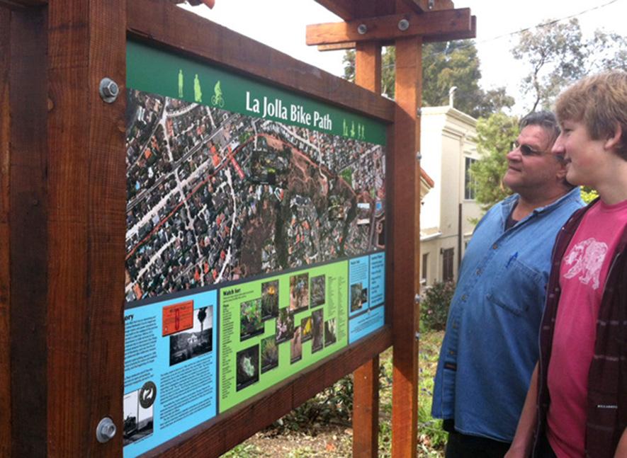 Bike Path Map, La Jolla, CA