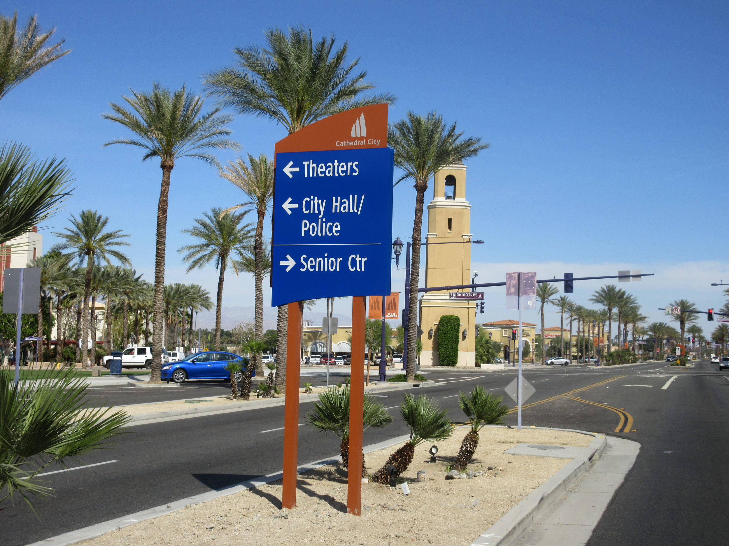 Cathedral City Median.JPG