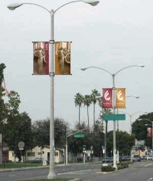City of Commerce banners
