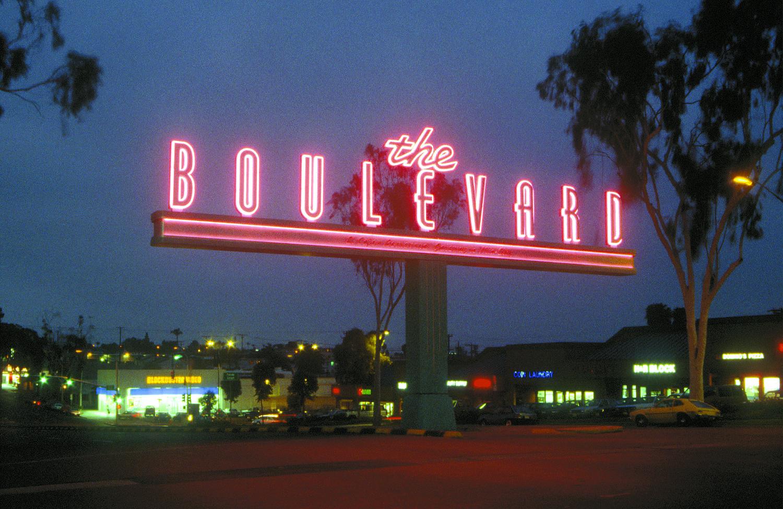 Gateway to El Cajon Boulevard