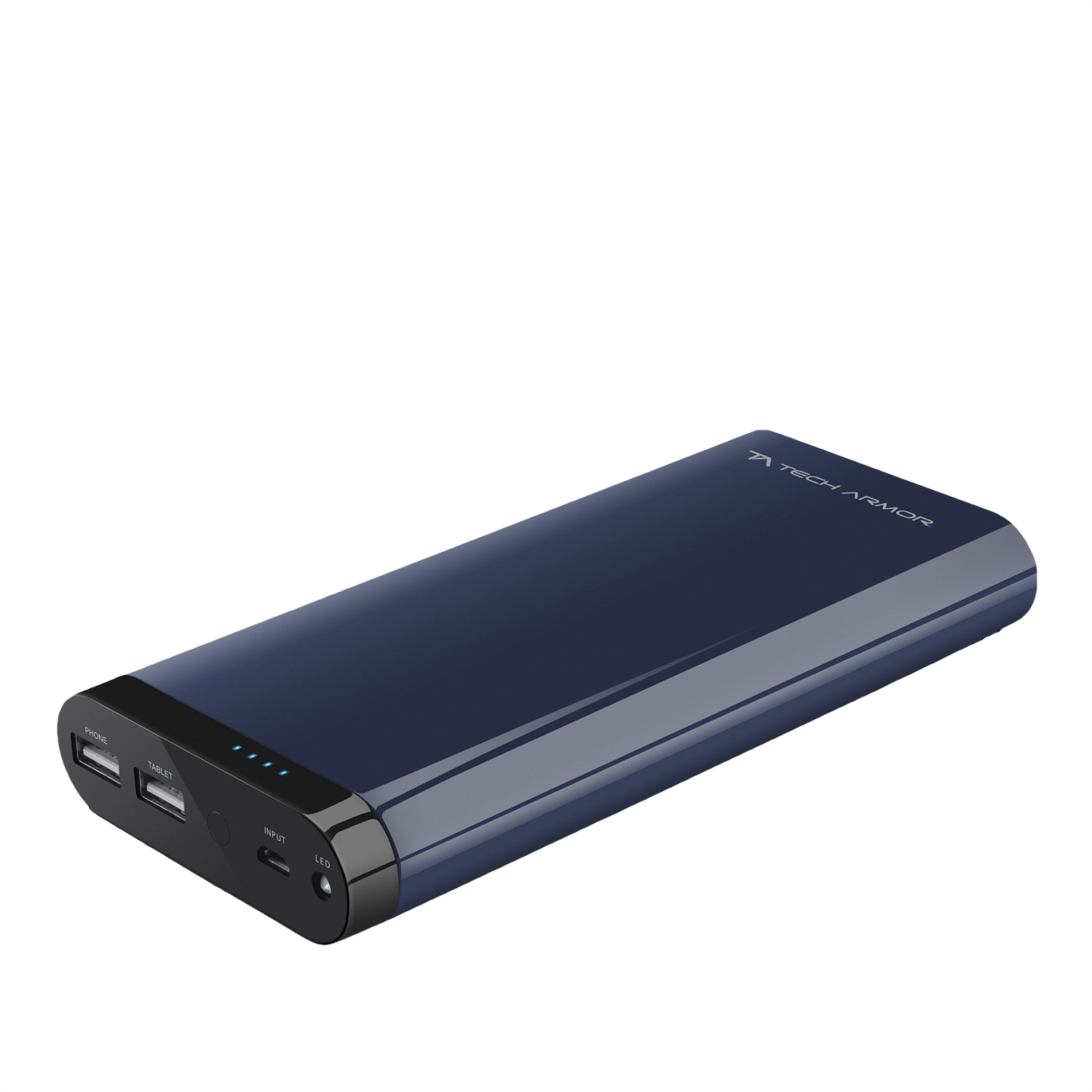 Enough Power for a short trip with the Techarmor 20.800 maH power bank