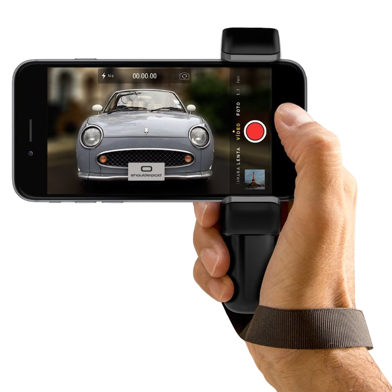ShoulderPod S1 iPhone Grip with Wriststrap