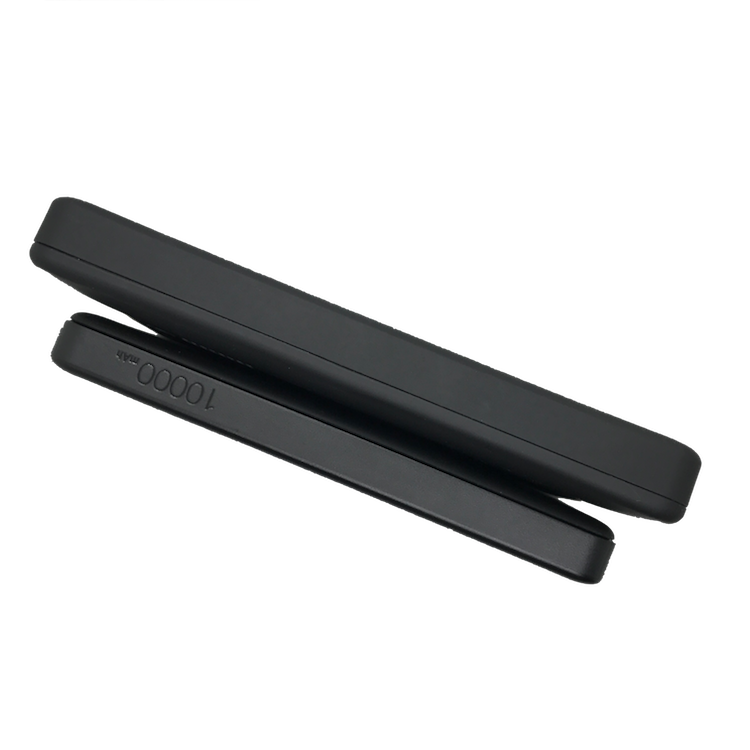 Anker PowerCore II Slim 10.000 mAh in the front and AmazonBasics power bank in the back