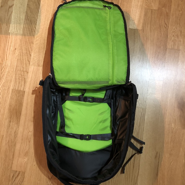 Osprey Farpoint 40 main compartment - 40L